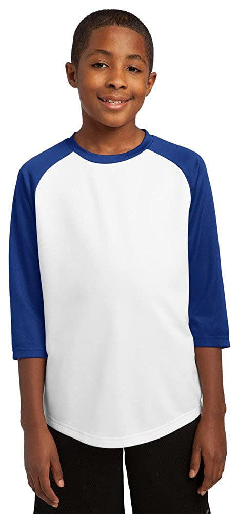 Sport-Tek Boys PosiCharge Baseball Jersey
