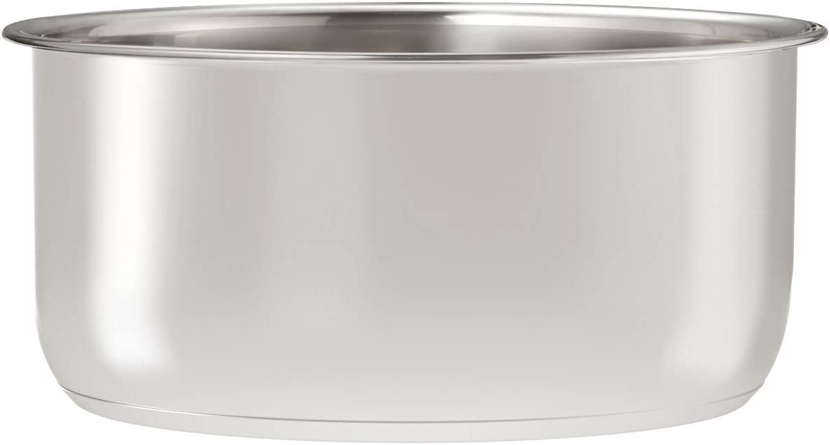 Goldlion Stainless Steel Inner Pot Compatible with Ninja Foodi 5 Quart Accessories Replacement Insert Liner