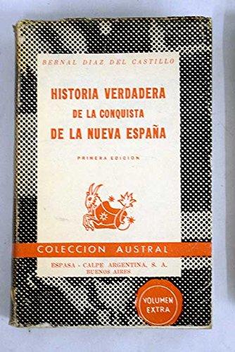 Historia verdadera de la conquista de la nueva España: Amazon.es: Díaz del Castillo, Bernal -: Libros