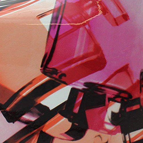 Women's Graphic Platform Pump Dress High Heel Stiletto Red Multi Color, Red (E30), 6
