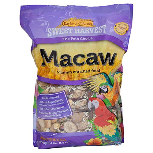 Kaylor-made Sweet Harvest Vitamin Enriched Macaw Food 4 - Harvest Macaw Sweet Vitamin