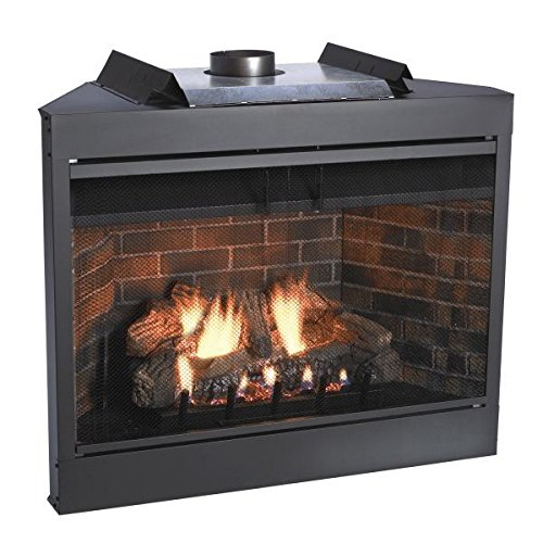 B-vent Fireplace System - Empire Comfort Systems Deluxe 42 Keystone Series MV Flush Face B-Vent Fireplace - Natural Gas