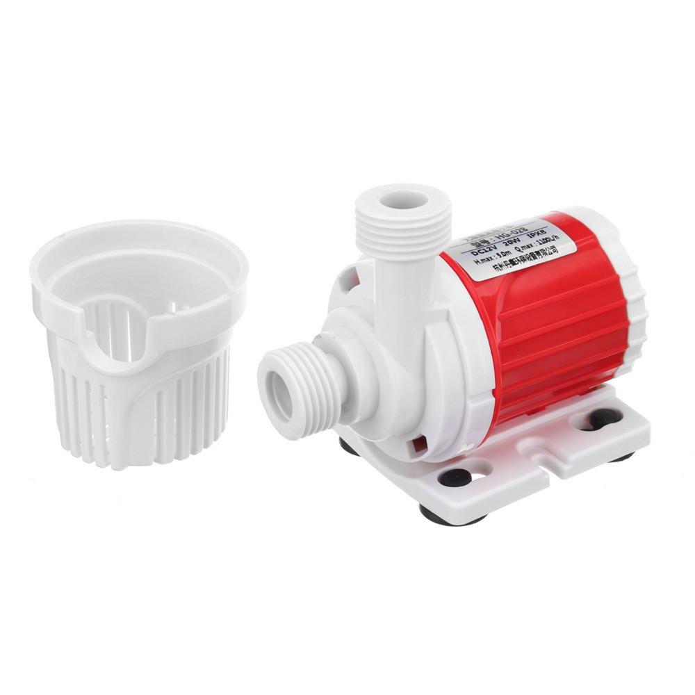 SGerste DC 12V Submersible Water Pump 1100L//H Submersible Pump