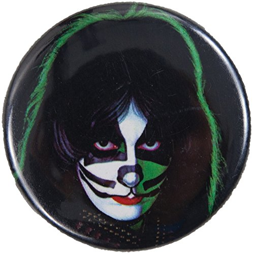 KISS - Peter Circle Button Magnet