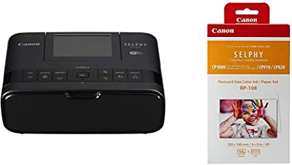 Canon Selphy Cp1300 Fotodrucker 10x15 Cm Mobiler Drucker Wlan Usb 300x300 Dpi Optionaler Akku Farbdisplay