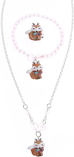 Claire/'s Club Owl and Beads Necklace Very cute!