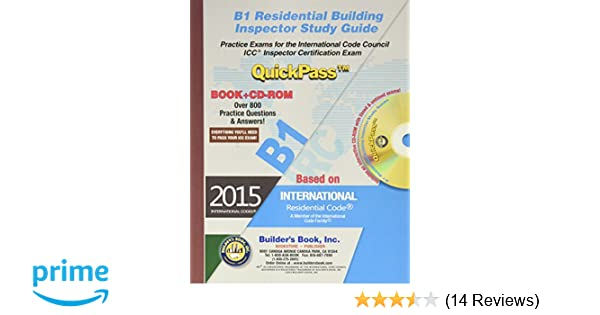 B1 Residential Building Inspector QuickPass Study Guide