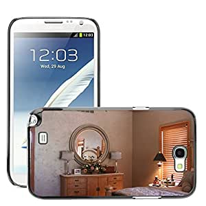 Hot Style Cell Phone PC Hard Case Cover // M00170245 Bedroom Paint Decoration Interior // Samsung Galaxy Note 2 II N7100