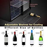 WIE 18 Bottle Compression Wine Cooler