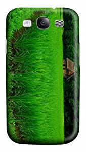 cover sale green Rice PC case/cover for Samsung Galaxy S3 I9300