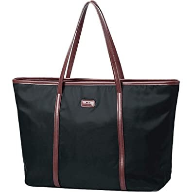 Amazon.com: Bolso bandolera de nailon Oxford de gran ...