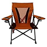 Kijaro Dual Lock Folding Chair-XX-Large (Victoria Desert Orange)