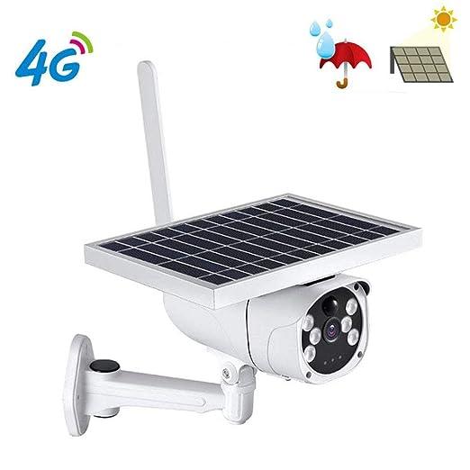 Cámara IP inalámbrica solar con tarjeta SIM 4G, cámara de ...