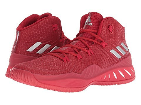 pretty nice e8201 32510 adidas Men s Crazy Explosive 2017 Red Silver White 10 D US D (M)