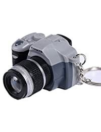 SUPPION LED Lovely Mini Camera Key Chain Rings Chain Cartoon Women Car Bag Key Ring