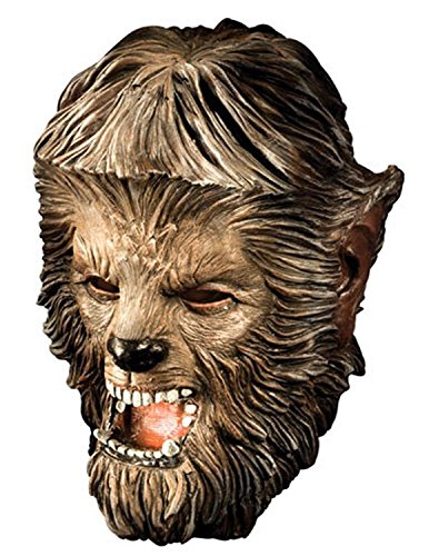 Deluxe Wolfman Mask Costume Accessory Wolfman Deluxe Mask