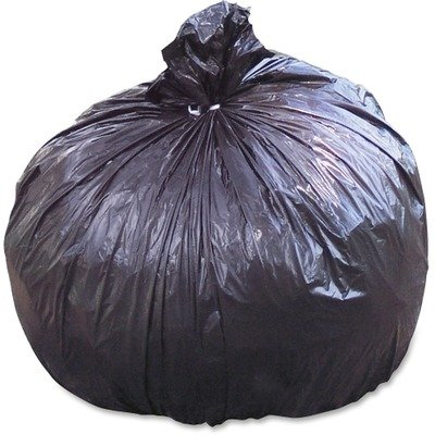 Stout by Envision T3658B15 100% Recycled Plastic Garbage Bags, 60gal, 1.5mil, 36 x 58, Brown/Black (Case of 100)