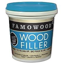 FAMOWOOD Latex Wood Filler - Cherry/Dark Mahogany -  1/4 Pint (118mL)