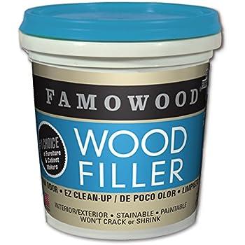Amazon Com Famowood 40022126 Latex Wood Filler Pint