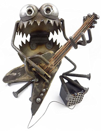 Gnome Be Gone Electric Guitar Player