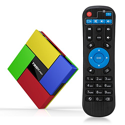T95K Pro Android TV Box Amlogic S912 Android 6.0 Marshmallow 2GB RAM 16GB Flash Octa-core WiFi 2.4+5G 1080p-smart TV Box Support 4K/3D/HD