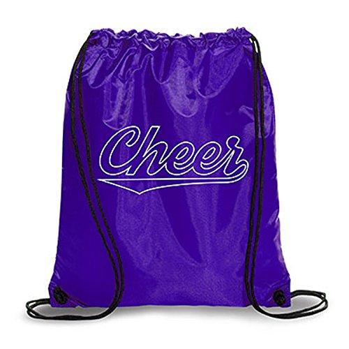 New Cheer Back Sack (Purple)
