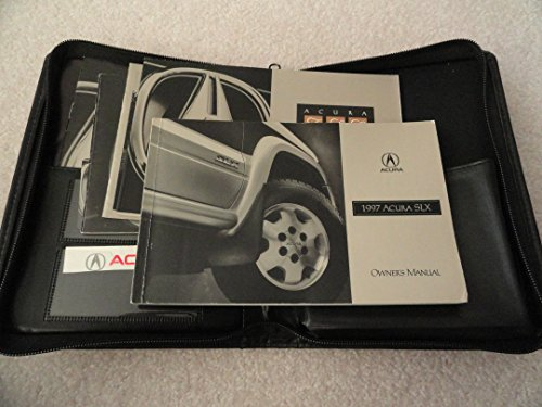 1997 Acura SLX Owners Manual Original