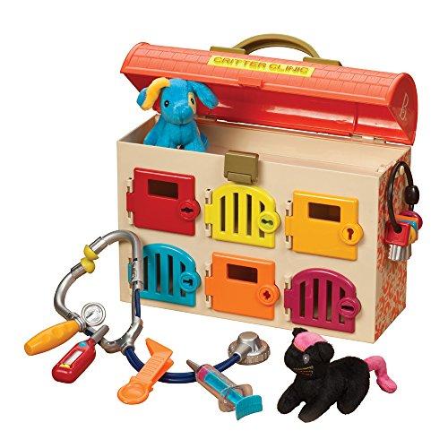 B. Critter Clinic Toy Vet Play Set ()