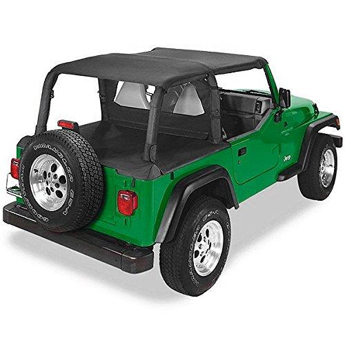 02 Jeep Wrangler Black Denim - 9