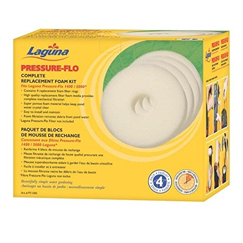 Laguna Pressure-Flo Replacement Foam Kit for Pressure-Flo 1400 UVC Filter - -