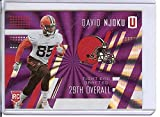 Football NFL 2017 Unparalleled Purple #300 David Njoku /149 Browns