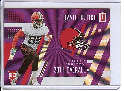 Football NFL 2017 Unparalleled Purple #300 David Njoku /149 Browns by