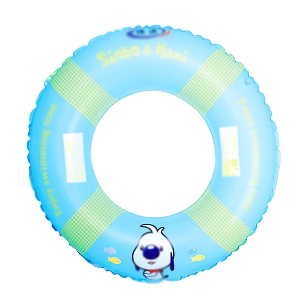Aufblasbare Schwimmring Erwachsene Kinder Rettungsring Anfänger Schwimmring Schwimmen Sicherheit Unterstützen Sommer Beach Party, Wasser Treiben Spielzeug (Farbe   Blau) Blau