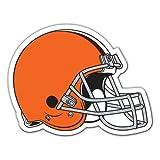 NFL Cleveland Browns 12-Inch Vinyl Helmet Magnet