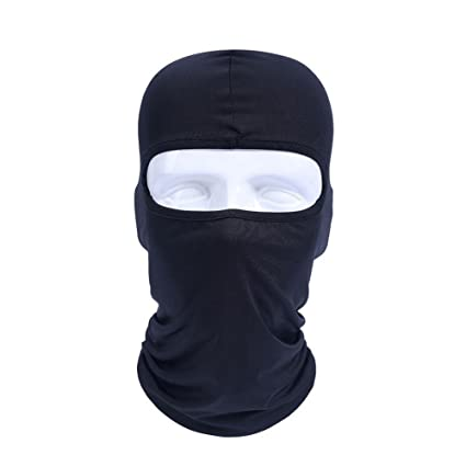 7a8e2d71be0 Image Unavailable. Image not available for. Color  GITVIENAR Multi Function Outdoor  Balaclava Winter Warm Full Face Cover Windproof Ski Mask Hat ...