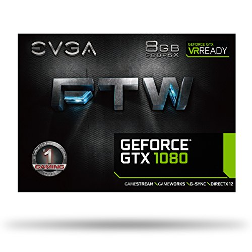 EVGA GeForce GTX 1080 FTW GAMING ACX 3.0, 8GB GDDR5X, RGB LED, 10CM FAN, 10 Power Phases, Double BIOS, DX12 OSD Support (PXOC) Graphics Card 08G-P4-6286-KR by EVGA (Image #7)
