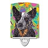 Caroline's Treasures Australian Cattle Dog Easter Night Light, 6'' x 4'', Multicolor