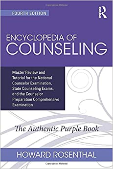 Book Encyclopedia of Counseling: Master Review and Tutorial for the National Counselor Examination, State Counseling Exams, and the Counselor Preparation Comprehensive Examination (Volume 1)