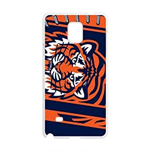 Happy NFL Detroit Tigers Logo Cell Phone Case for Samsung Galaxy Note4