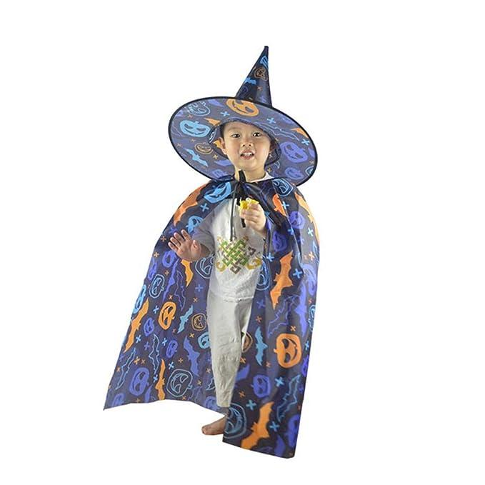 JUNERAIN Ropa para niños Disfraz de Halloween Sombrero de Capa de ...