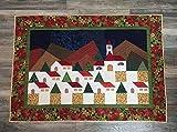 Handmade Christmas Patchwork Aplique Quilting Tapestry
