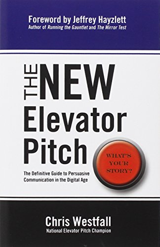 New Elevator Pitch Chris Westfall PDF 059df4bae – Exklusive