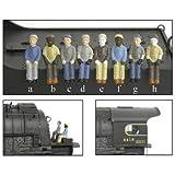 Broadway Limited BLI1005 HO Engineer/Fireman B (c&h) (2)