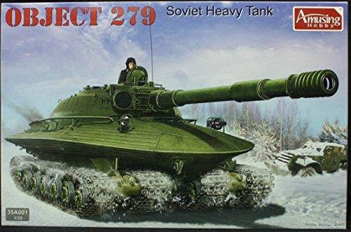 Amusing Hobby 1:35 Soviet Heavy Tank Object 279 Plastic Mode
