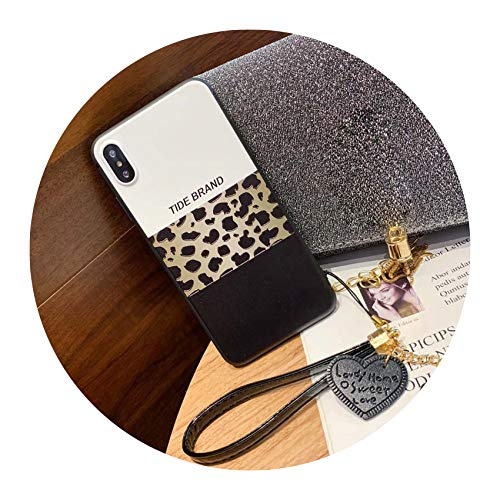 (Colorful Leopard Print Phone Case for iPhone Xs Max XR X Case for iPhone 6 6s 7 8 Plus Back Cover Luxury Soft Cases Capa,Style 1,for iphone6p 6splus)