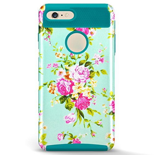 DDLBiz Flowers ShockProof Protective 4 7inch