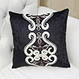 ZUOANCHEN Cushion American-Style Sofa Pillow Living Room Bedside Chair Car Siesta Backrest Big Pillow with Pillow Chair Cushion Bedroom/car/Balcony/Office. (Color : B)