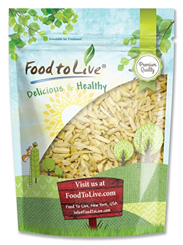 Food to Live ALMONDS (Slivered, Blanched, Kosher) (2 Pounds)