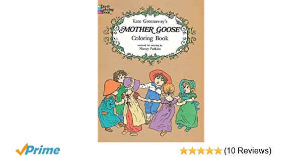 Amazon.com: Kate Greenaway\'s Mother Goose Coloring Book (Dover ...
