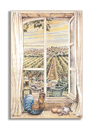 Stupell Home Décor Decorative Faux Window , French Country
